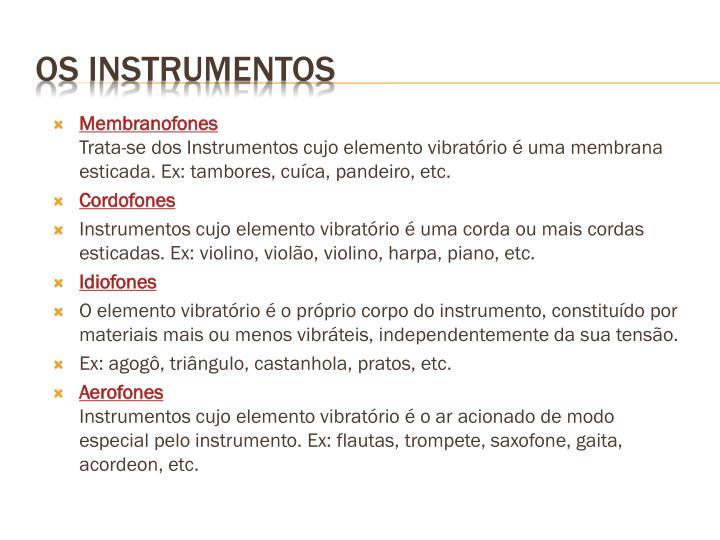 Membranofones