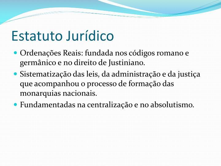 Estatuto Jurídico
