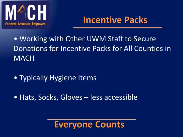 Incentive Packs