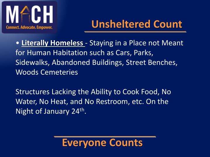 Unsheltered Count