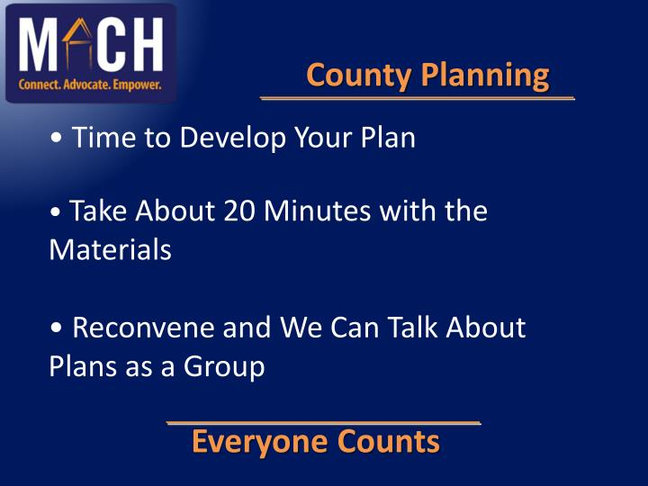County Planning