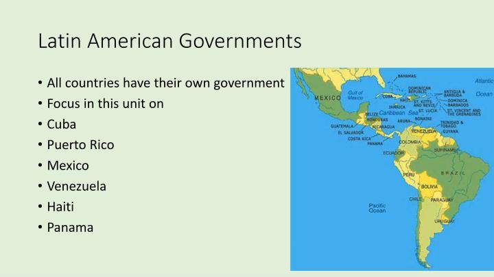 Latin American Governments