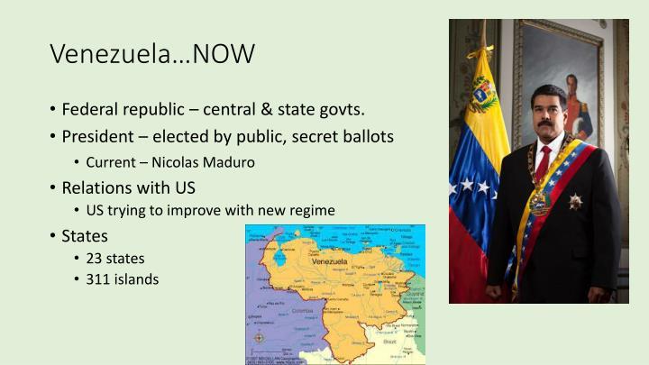 Venezuela…NOW