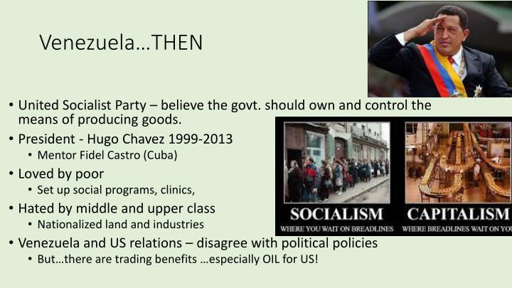Venezuela…THEN