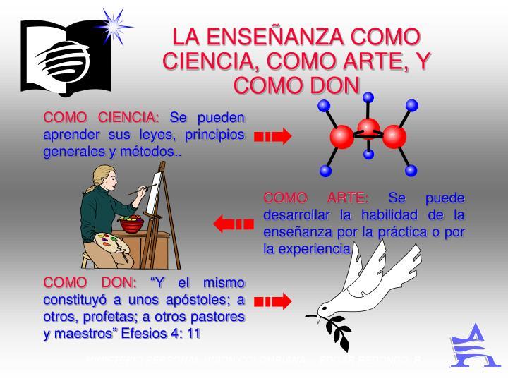 COMO CIENCIA: