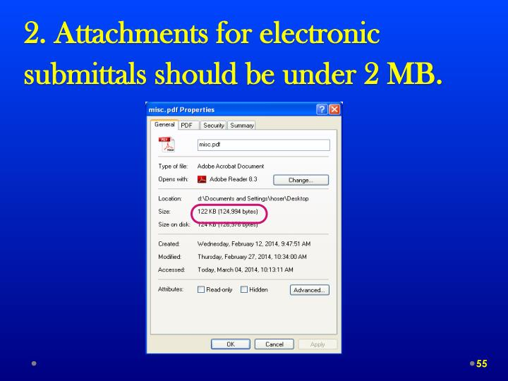 2. Attachments