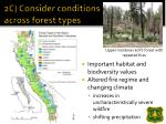 2c consider conditions across forest types