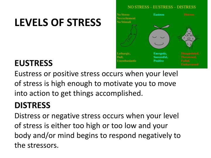 LEVELS OF STRESS