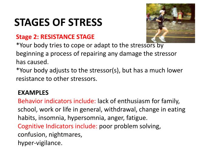 STAGES OF STRESS