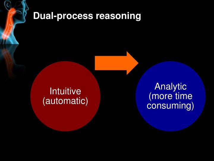 Dual-process reasoning