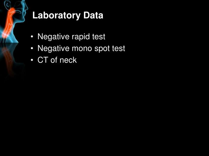 Laboratory Data