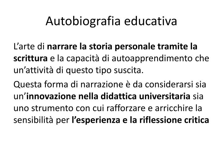 Autobiografia educativa1