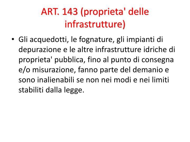 ART. 143 (