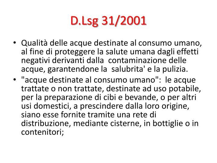 D.Lsg