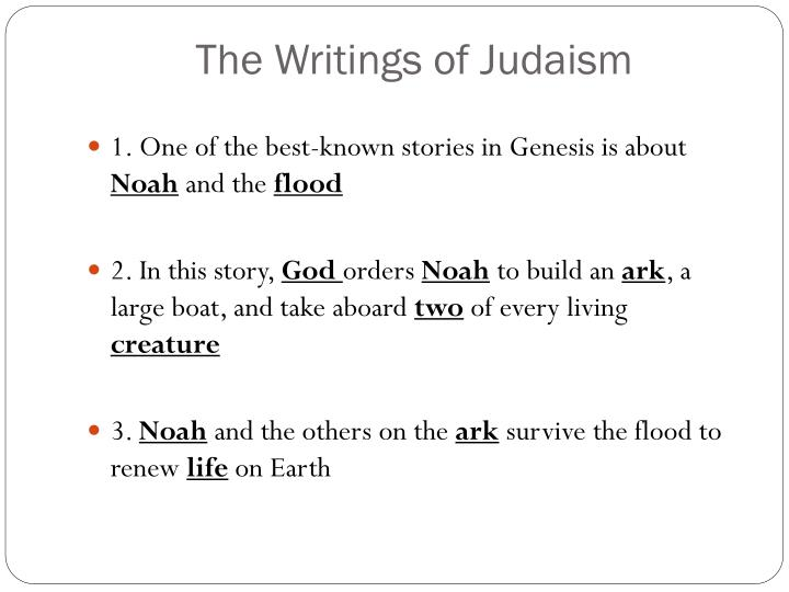 The Writings of Judaism