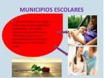municipios escolares