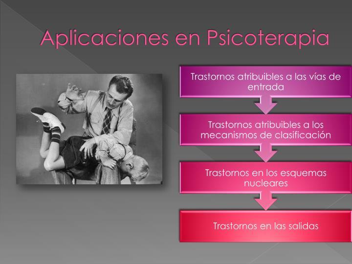 Aplicaciones en Psicoterapia
