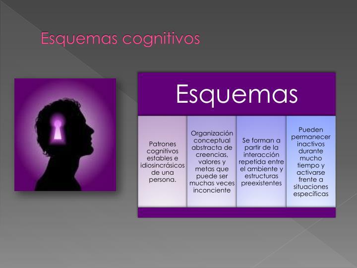 Esquemas cognitivos