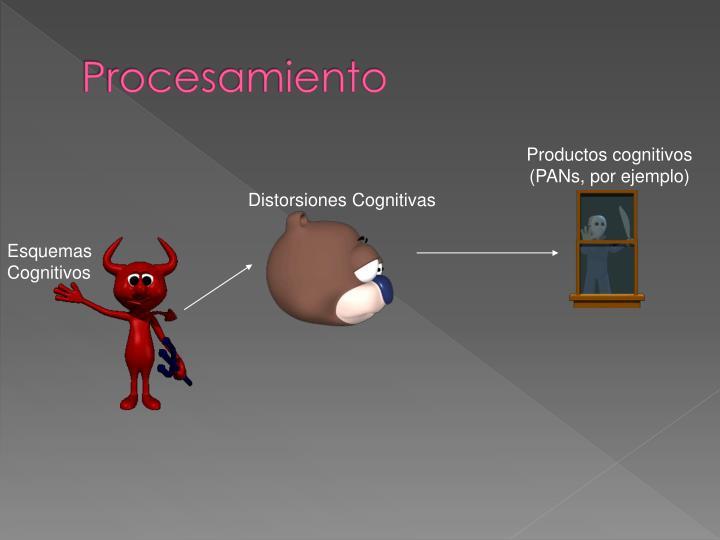 Productos cognitivos (PANs, por ejemplo)
