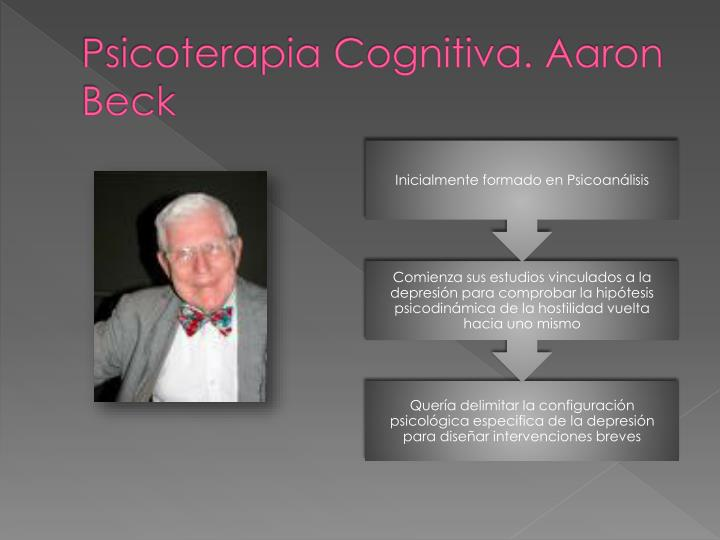 Psicoterapia Cognitiva. Aaron Beck
