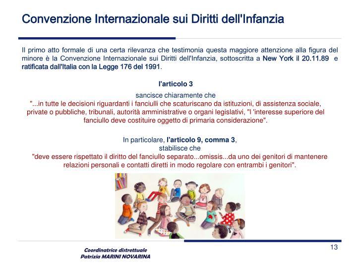 Convenzione Internazionale sui Diritti dell'Infanzia