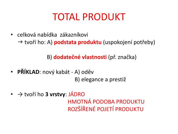 TOTAL PRODUKT