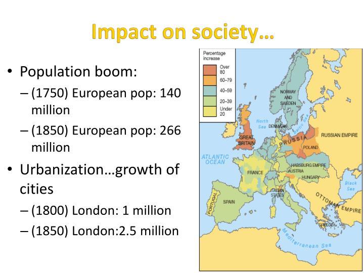 Impact on society…