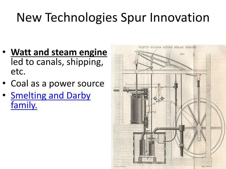 Watt and steam engine