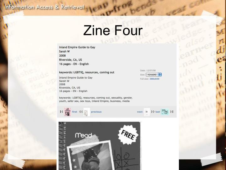 Zine Four