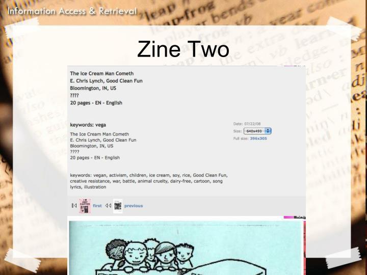 Zine Two