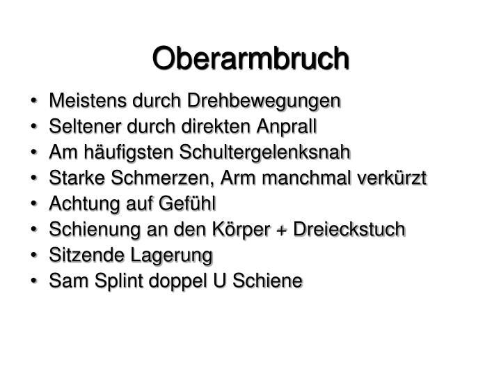 Oberarmbruch