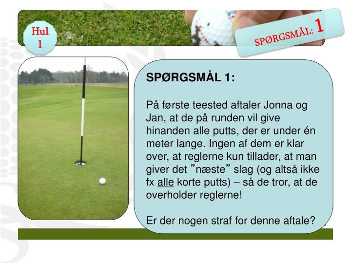 SPØRGSMÅL: