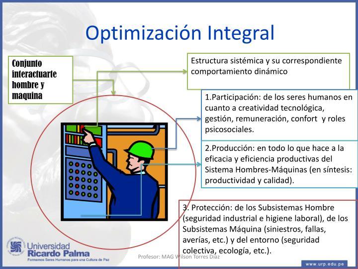 Optimización Integral