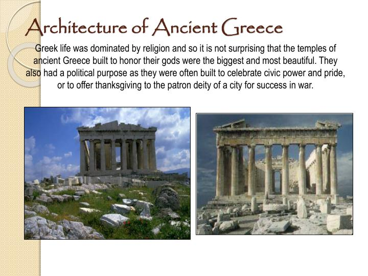 Architecture of Ancient Greece
