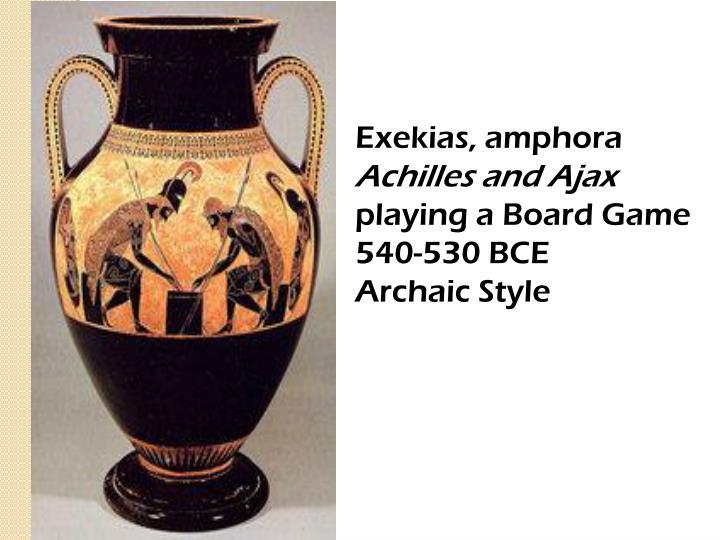 Exekias, amphora