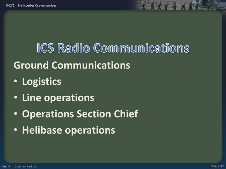 ICS Radio Communications