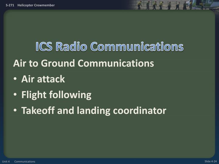 ICS Radio Communications