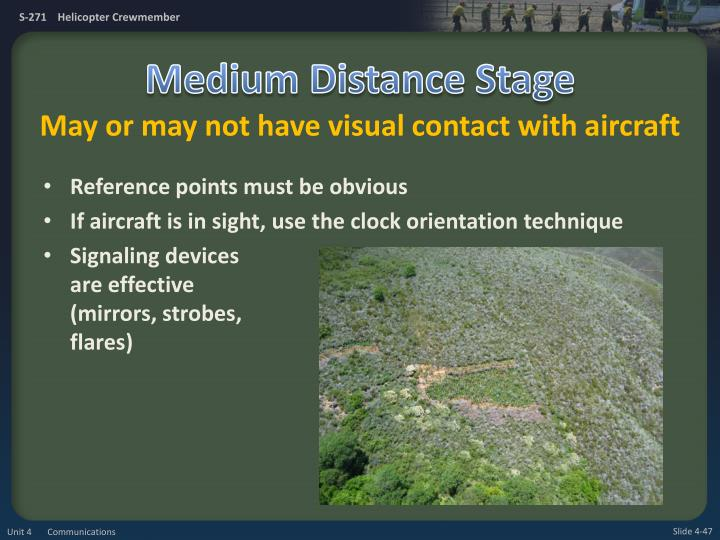 Medium Distance Stage
