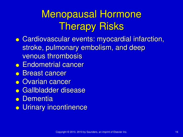 Menopausal Hormone