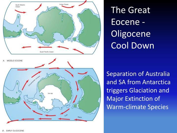 The Great Eocene -Oligocene