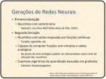 gera es de redes neurais