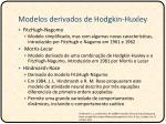 modelos derivados de hodgkin huxley