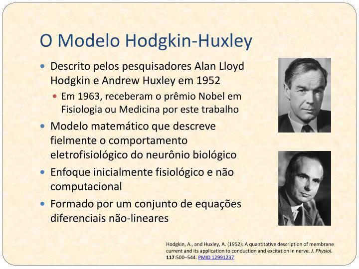 O Modelo Hodgkin-Huxley