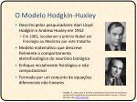 o modelo hodgkin huxley