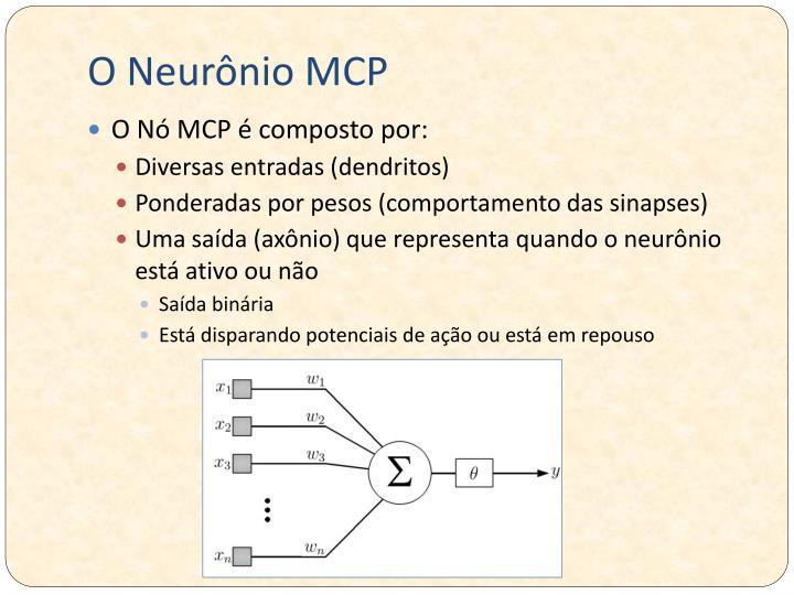 O Neurônio MCP