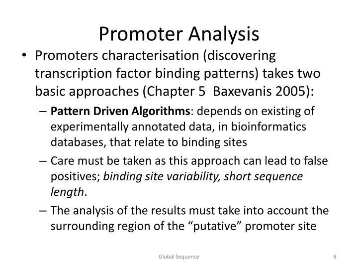 Promoter Analysis