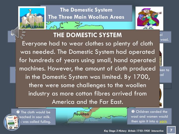 The Domestic System