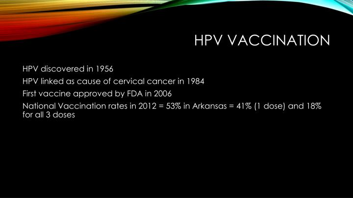 HPV vaccination