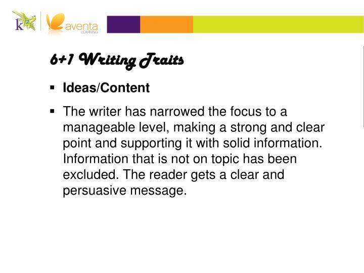 6 1 writing traits persuasive essay 6 traits writing rubric persuasive essay category excellent good essay rubric 6+1 trait writing model permission from rosen digital audio.