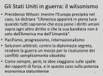 gli stati uniti in guerra il wilsonismo2